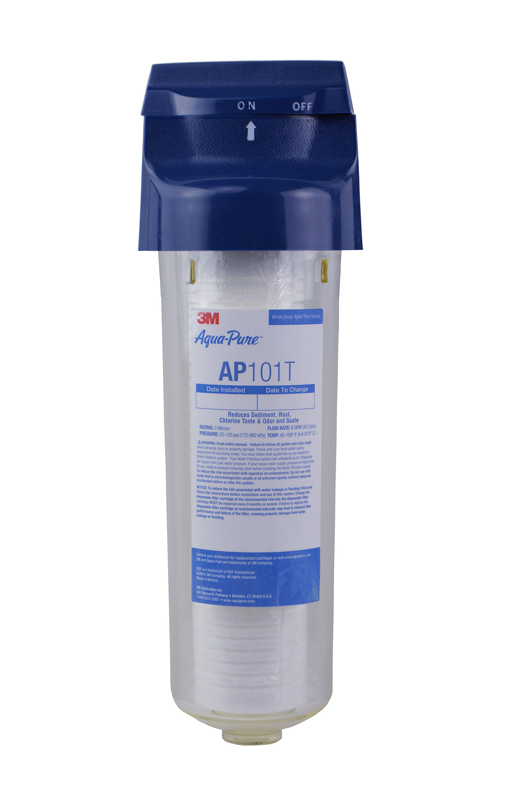 Aqua-Pure AP101T Whole House Transparent Water Filter by 3M Aqua-Pure