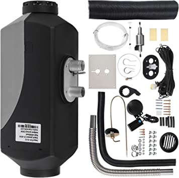 Kit Riscaldatore Diesel Air Heater Riscaldamento da Parcheggio 5000W Riscaldatore ad Aria Diesel per Autocarro Camion Automobili Autobus VEVOR 12V 5 KW Riscaldatore Aria Gasolio con VERSIONE TG