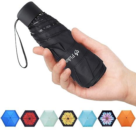 00740599ddc4 Fidus Mini Compact Sun&Rain Travel Umbrella - Lightweight Portable Outdoor  Golf Umbrella with 95% UV Protection