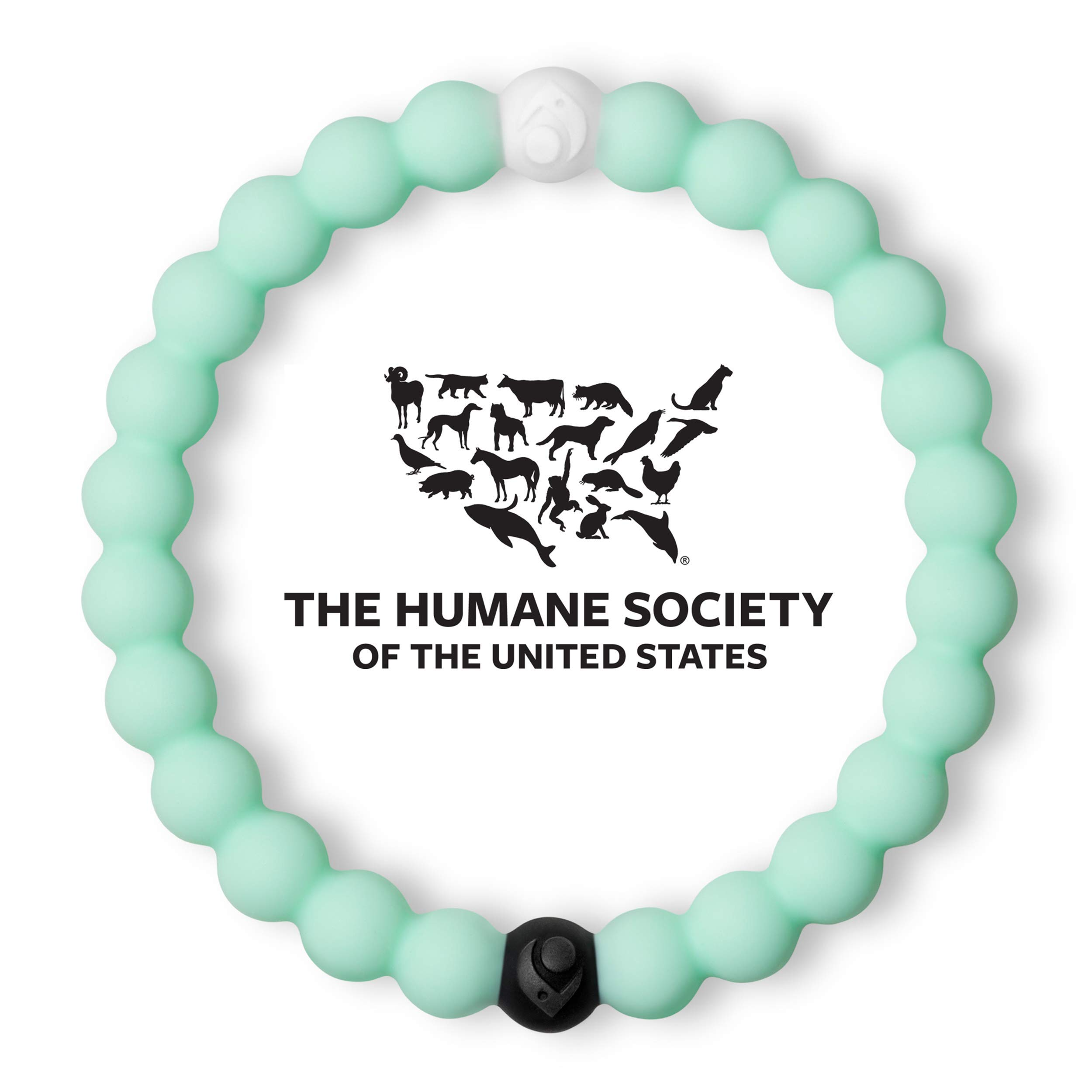 Lokai Animal Rescue Bracelet, Mint, 6'' – Small