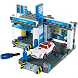 Theo Klein Bosch Car Repair with Car Wash Playset