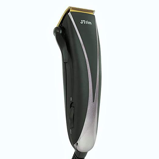 Hair Clippers for Men By JTrim PRO-BARBER Elite Electric Beard Trimmer Corded Hair Trimmer