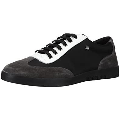 Moschino 2004419 03 55730, Herren Sneaker, Grau (GRIGIO NERO