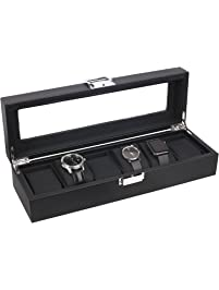 Watch Cabinets Amp Cases Amazon Com