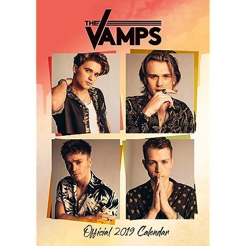 The Vamps Official 2019 Calendar - A3 Wall Calendar Format