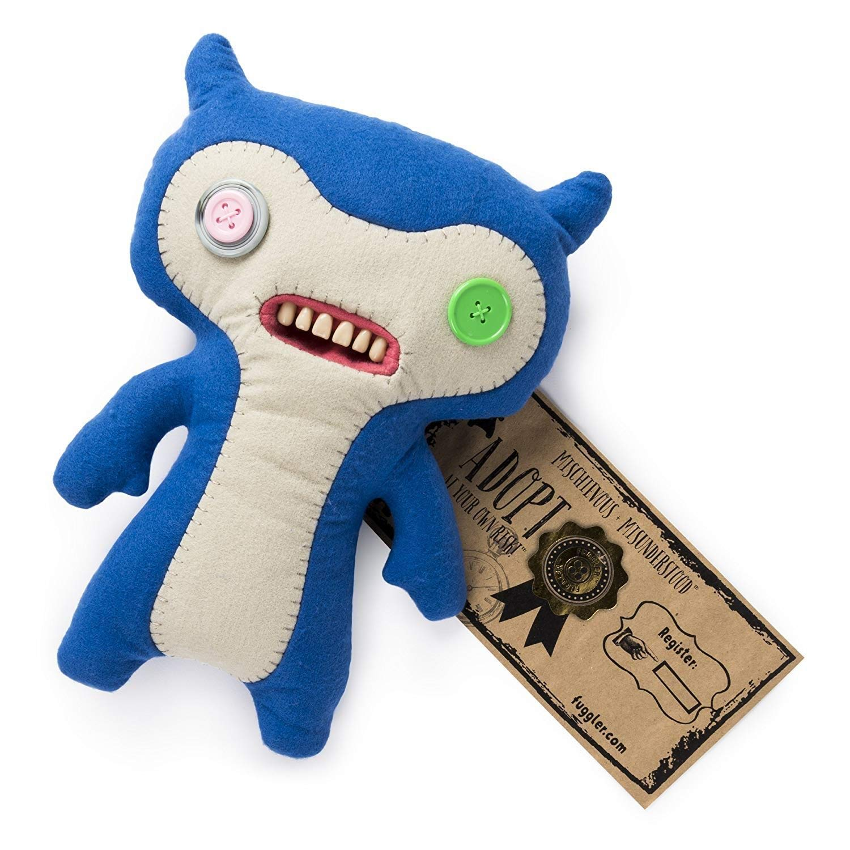 Fuggler - Grande Felpa Monstruo Feo Divertido - Azul y ...