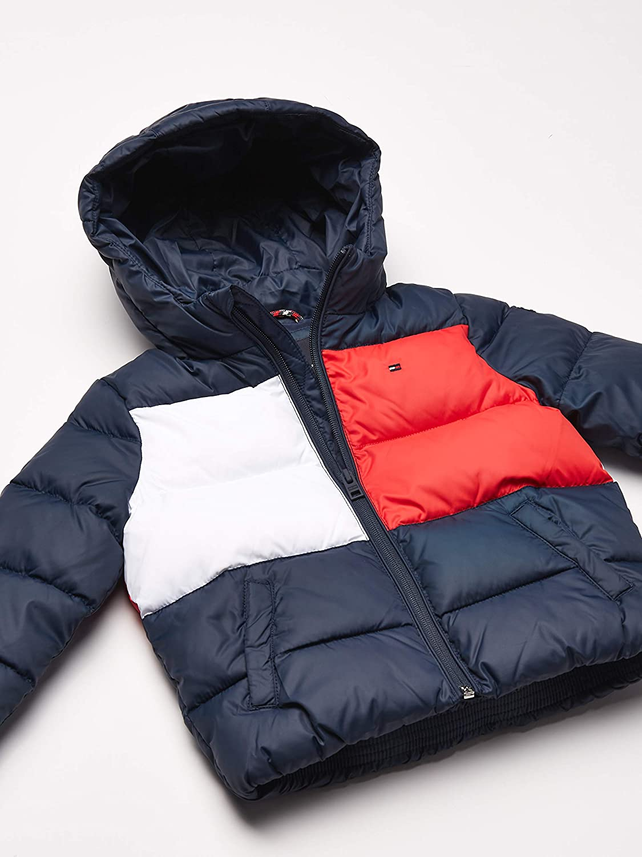 TOMMY HILFIGER Padded Flag Jacket Giacca Bambino