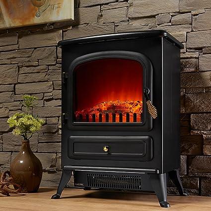 Chimenea eléctrica Leeds de El Fuego® Chimenea decorativa Chimenea AY 500