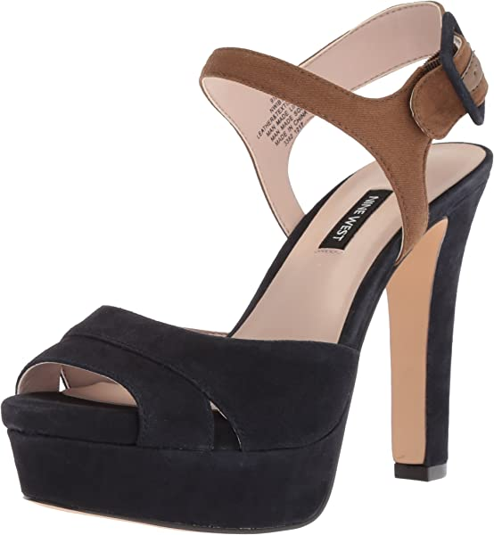 7a712f249f4 Nine West Women s IBYN Heeled Sandal