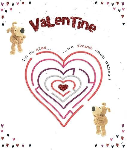 Boofle - Tarjeta de San Valentín con diseño de corazón ...