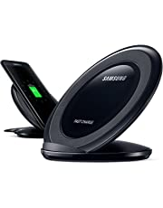 Samsung EP-NG930 Induktive Schnellladestation Qi-Charger Kompatibel mit Samsung Galaxy S7/S7 Edge, Schwarz