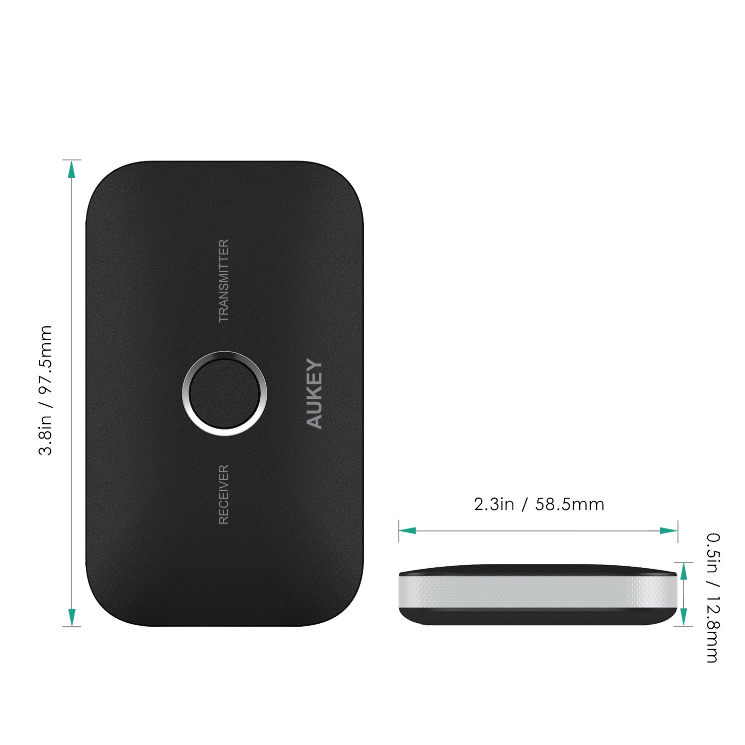AUKEY br-c11 Adaptador Bluetooth 4.1, Color Negro: Amazon.es: Electrónica