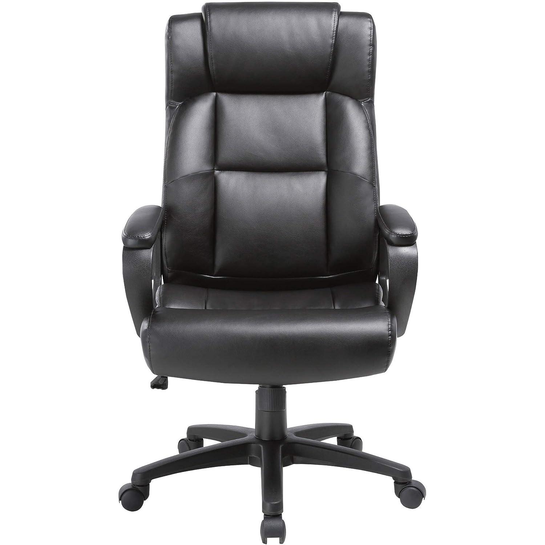 Amazing Amazon Com Lorell Llr41844 Soho High Back Leather Executive Machost Co Dining Chair Design Ideas Machostcouk
