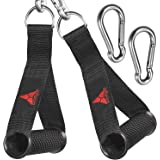 allbingo Pro Cable Handles Compatible with Cable Machines and Bowflex, Heavy Duty Exercise Hand Grips Attachment with 2…