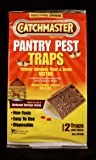 Ap & G Inc Catchmaster 812sd Flour & Grain Moth Pantry Pest Traps 2 Count (Pack of 12)