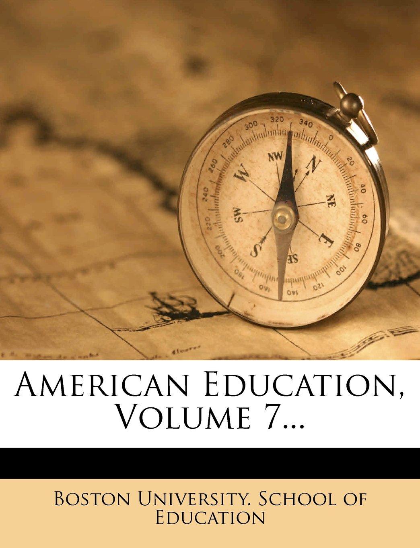 Download American Education, Volume 7... pdf epub