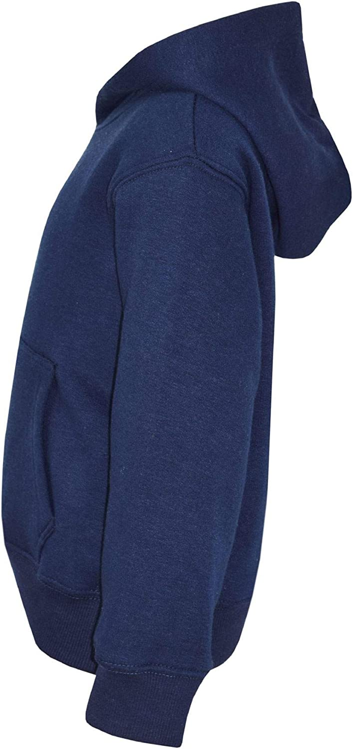 Kids Girls Boys Sweat Shirt Tops Plain Navy Hooded Jumpers Hoodies Age 2-13 Year