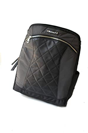 d4bbbbb21 Amazon.com: MotoChic Lauren Bag Convertible Backpack Tote Bag in Black  Leather: Clothing