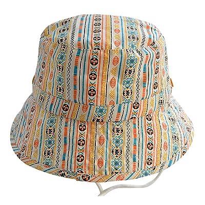 COMVIP Chapeau de Soleil Imprimé Bob Plage Pêche Coton Outdoor Sport Camping Loisir Eté