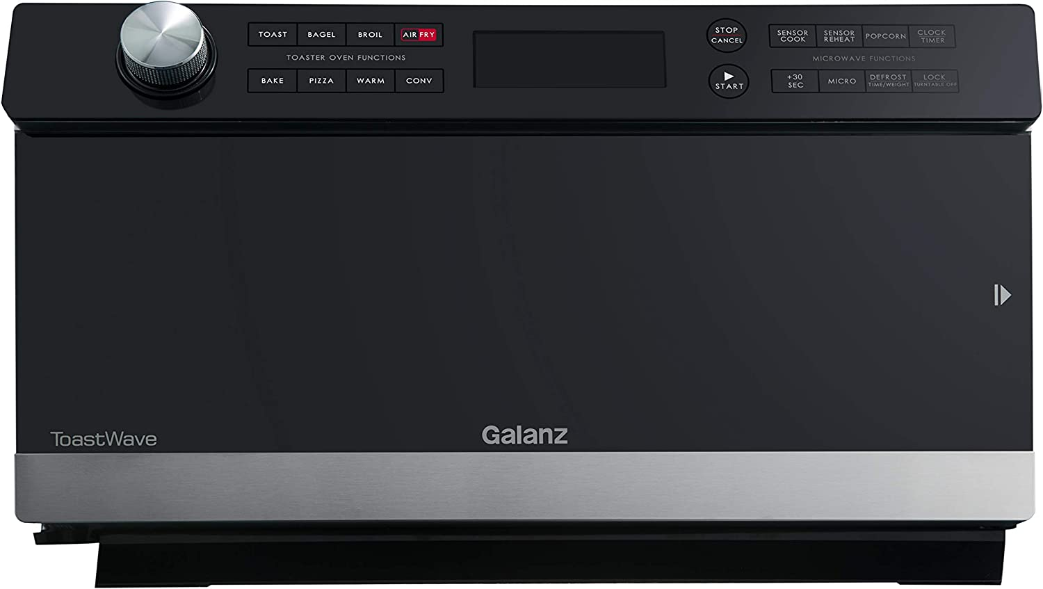 Galanz Americas GTWHG12S1SA10 ToastWave 4-in-1 Multifunctional Oven, Stainless Steel