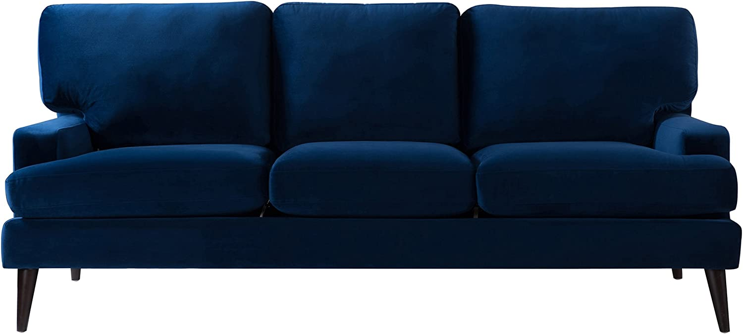 Jennifer Taylor Home Enzo Sofa, Navy Blue