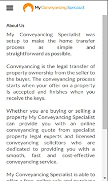 online conveyancing quote