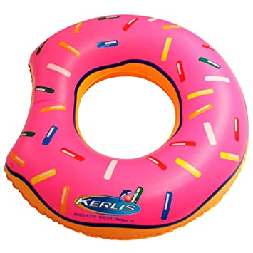 Kerlis el Donut S Flotador para Adulto, Rosa