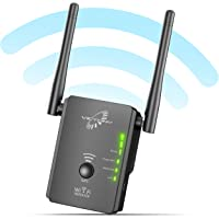 VICTONY WA305 WiFi Extender 300Mbps WiFi Signal Booster 2.4 G Frequency with 2 x External Antennas 360 Degree Full Covering WiFi Range Extender