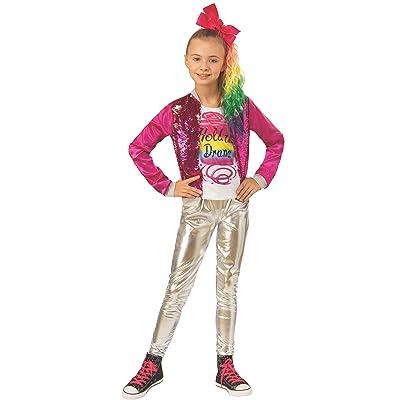 "Jojo Siwa Child's ""Hold The Drama"" Costume, Large: Toys & Games"