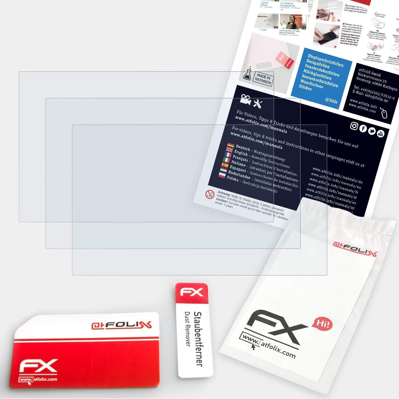Rivestimento antiriflesso HD FX Protettore Schermo atFoliX Pellicola Proteggi per Garmin n/üvi 2589//2599 LM//LMT Protezione Pellicola dello Schermo 3X