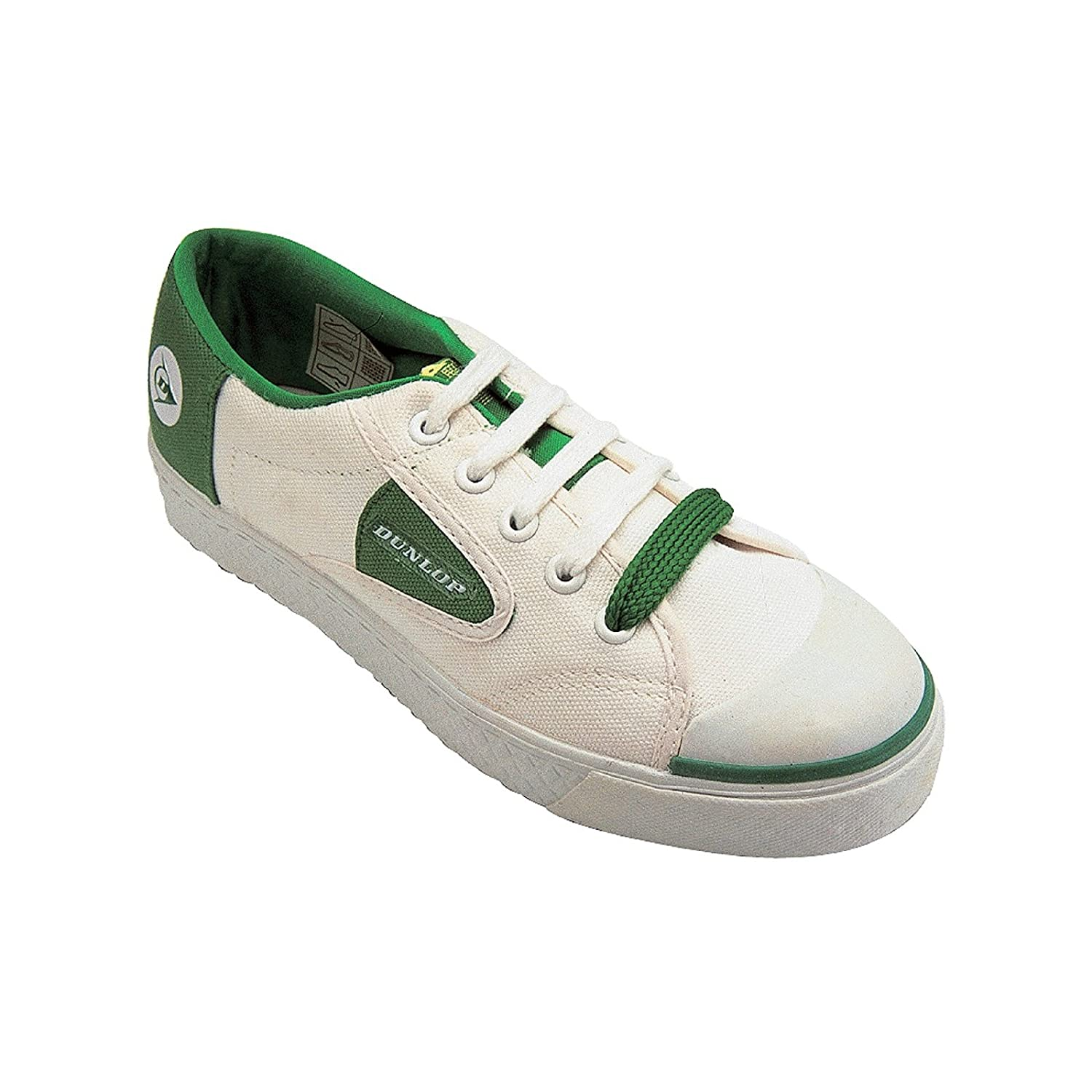 30%OFF Dunlop Unisex Green Flash Lace Up Casual Sneakers