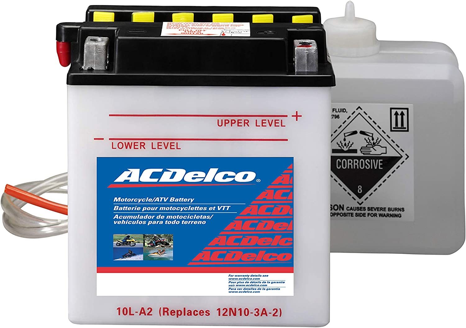 ACDelco AB10LA2 Specialty Conventional Powersports JIS 10L-A2 Battery