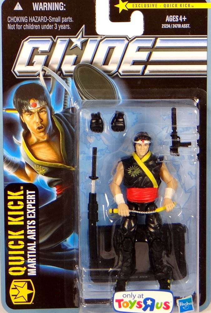 G.I. Joe Quick Kick Martial Arts Expert - City Strike Tru ...