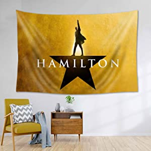 Peliny Chrid Ham-ilton Musical Tapestry Wall Hanging Soft Tapestries Home Decorations For Living Room Bedroom Dorm Decor 60x40 Inches