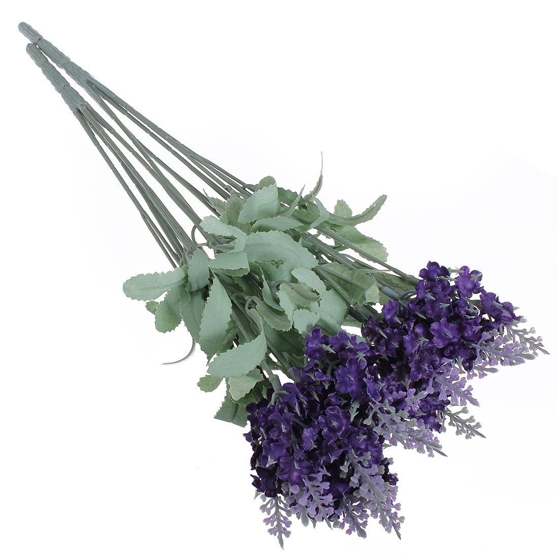 A Bouquet 10 Head Artificial Lavender Silk Flowers Violet Bouquet