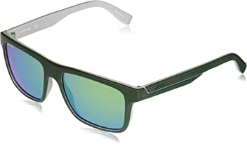 d09cd537893 Lacoste Men s L876s Plastic Square Stripes   Piping Sunglasses