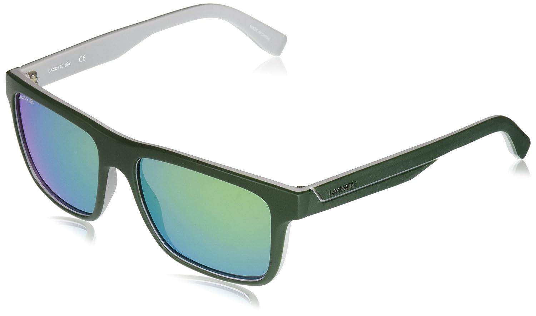 f3c4c37f2 Óculos Lacoste L876S 315 Verde Fosco Branco Lente Verde Flash Tam 57:  Amazon.com.br: Amazon Moda