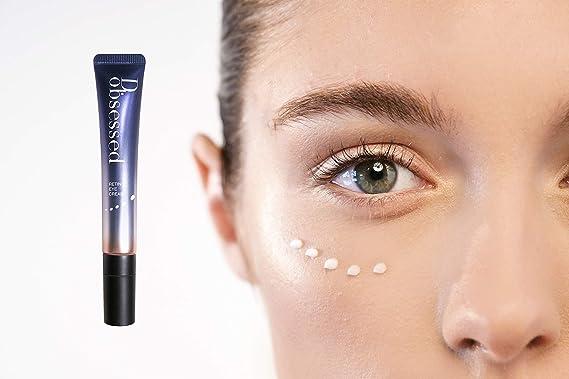 Crema para los Ojos de Retinol de D.obsessed - Resolución antiedad para arrugas, círculos oscuros e hinchazón - Exclusivo con retinol, células madre ...