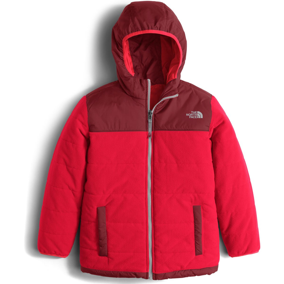 The North Face Reversible True Or False Jacket Boys TNF Red Small by The North Face