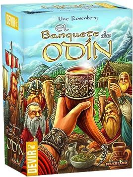 Devir - El Banquete de Odín, Juego de Tablero (BGODIN): Amazon.es: Juguetes y juegos