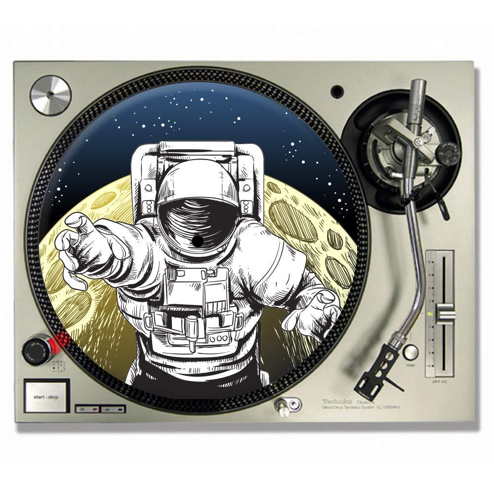 Alfombrilla para tocadiscos (473 ml), diseño de DJ: Amazon ...
