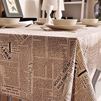 Wxfc Die Moderne Kunst Nordic Einfache Baumwolle Tischdecke