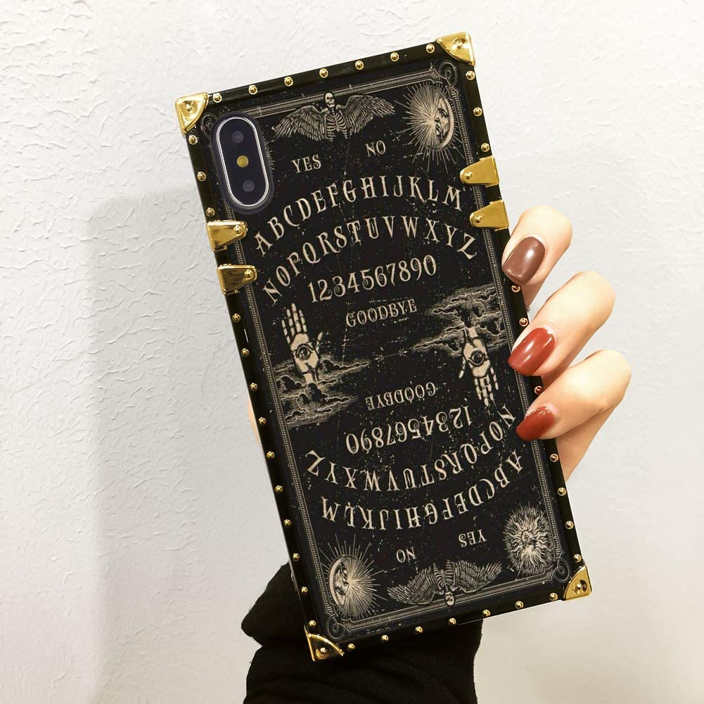 YaoLang Ouija Board iPhone 10 Case & iPhone X Case & iPhone Xs Case 5.8-Inch for Girls Women Teens