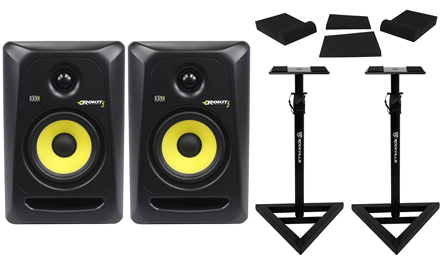 (2) KRK RP5-G3 Rokit Powered 5