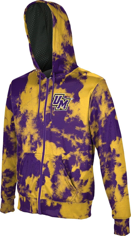 Grunge University of North Texas Boys Zipper Hoodie School Spirit Sweatshirt