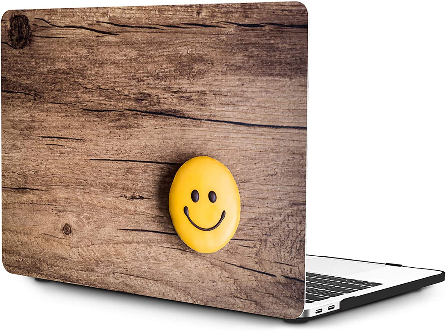 OneGET MacBook Pro 16 Inch Case with Touch Bar Touch ID MacBook Pro 16 Inch Case 2019 Release A2141 with Retina Display MacBook Pro Cases Laptop Case Pro 16 Inch Hard Case Woodgrain(S28)
