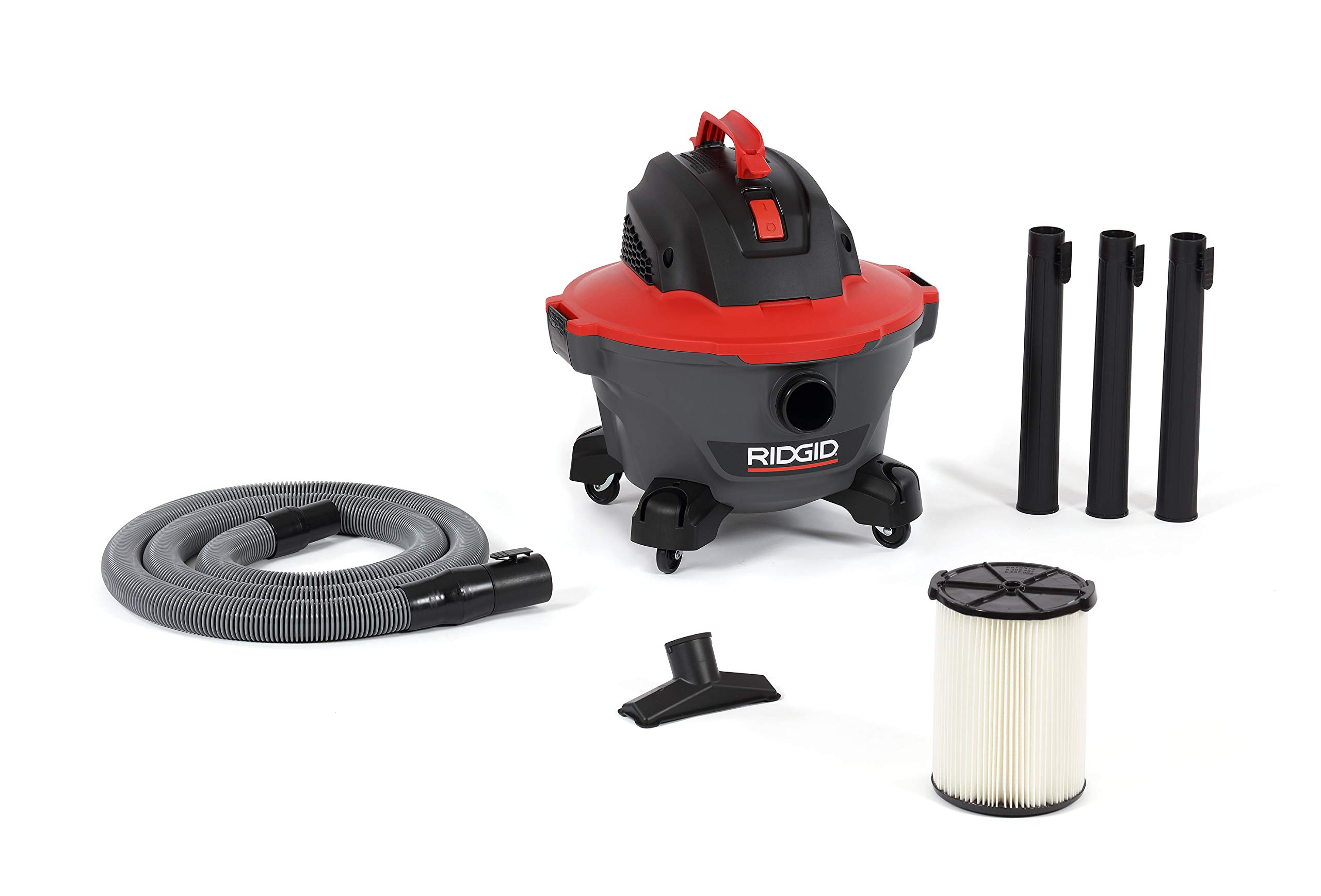 Ridgid 62698 Red 6 gallon RT0600 Wet/Dry Vacuum by Ridgid