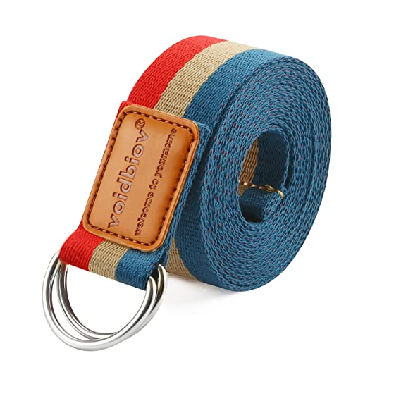 Correa de algodón para Yoga con Hebilla en D, 1,85m/2,5m ...