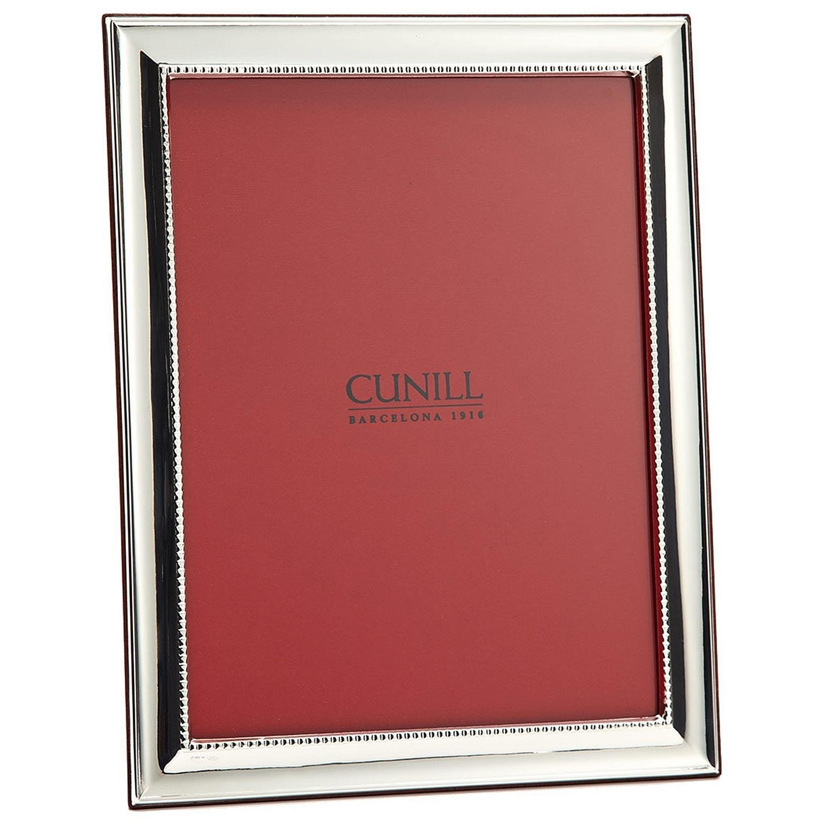 GROOVE II Fine Sterling Silver frame by Cunill - 8x10 by Cunill Silver Barcelona®