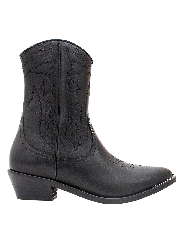 Catarina Martins Woherren Abbey Woherren Cowboy Stiefel In schwarz Leather